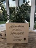 Personalised Flower / Plant Pot In Memory Of Loved One SON DAUGHTER Or ANY NAME